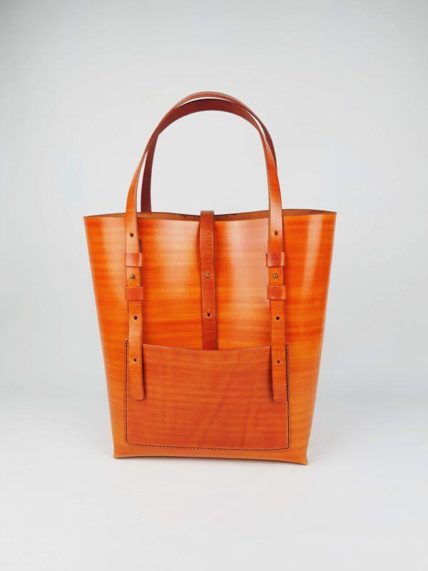 velká kožená kabelka
