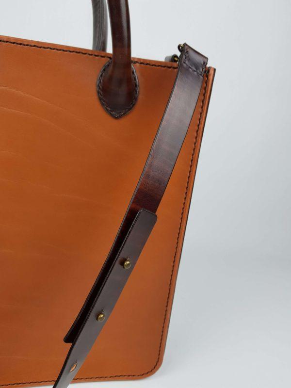 tiger kožená kabelka