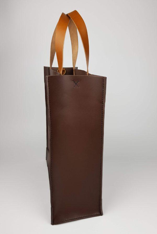 kožená kabelka tote